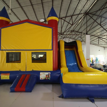 Giant inflatable bounce house, bounce house inflatable bouncer with slide for kids