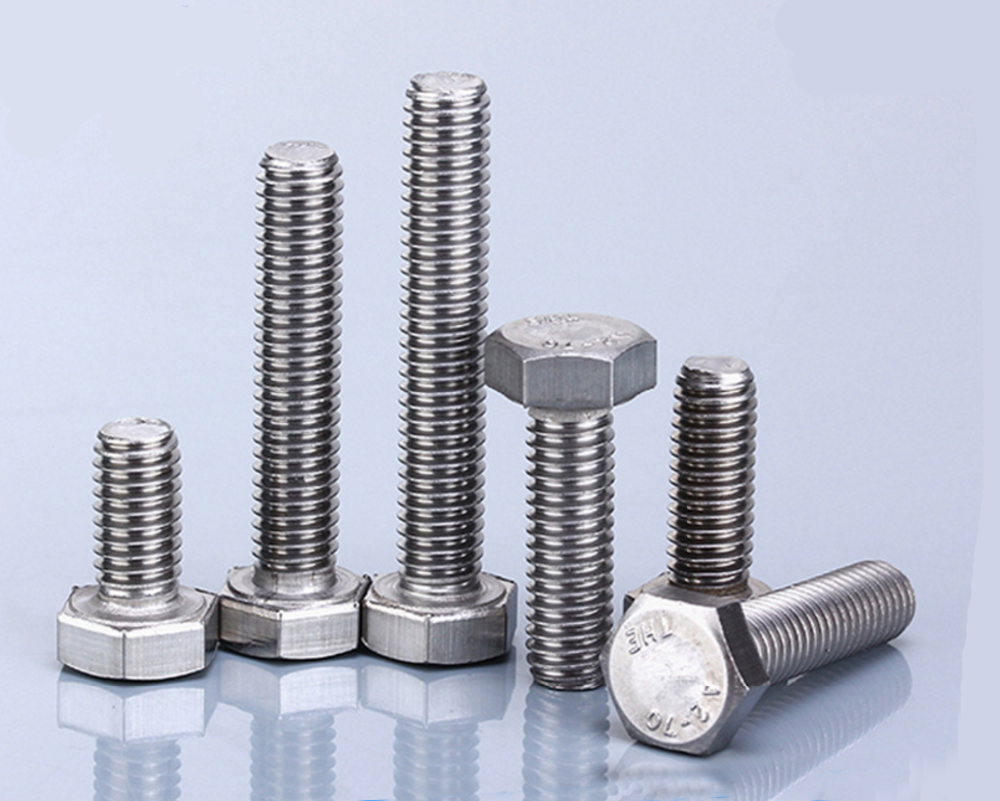 Manufatctor Custom Metal Screw Bolt And Nut With Low Order Price ...