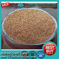 using for deburring, deflashing, finish application Walnut Shell Sand