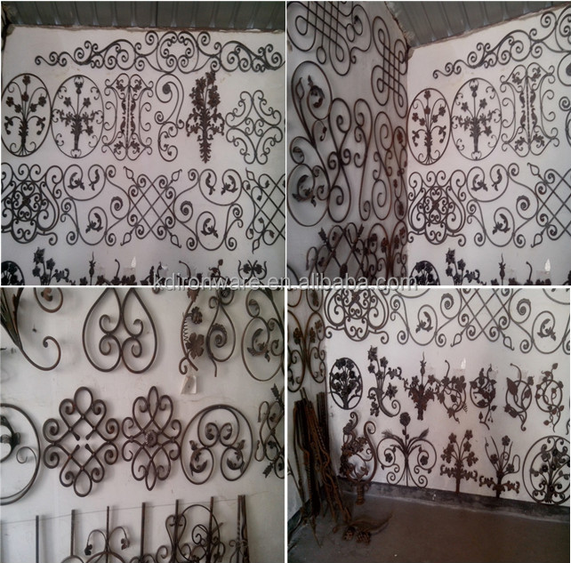 New Design Ornamental Wrought Iron Fence Panels Iron Gate
