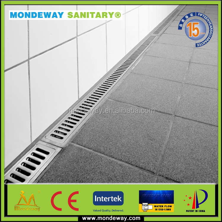 HOT SALES forbathroom floor drain filtered water/electronic water drain rain water drain/rectangular floor drain WITH GOOD PRICE