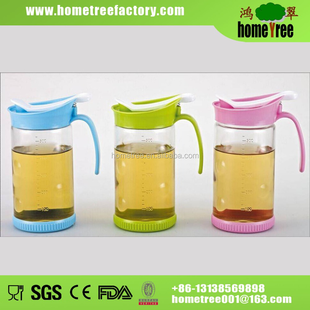 Glass Kitchen Oil Bottle Holder Sauce Bottle Holder Cooking Oil Storage  Bottle