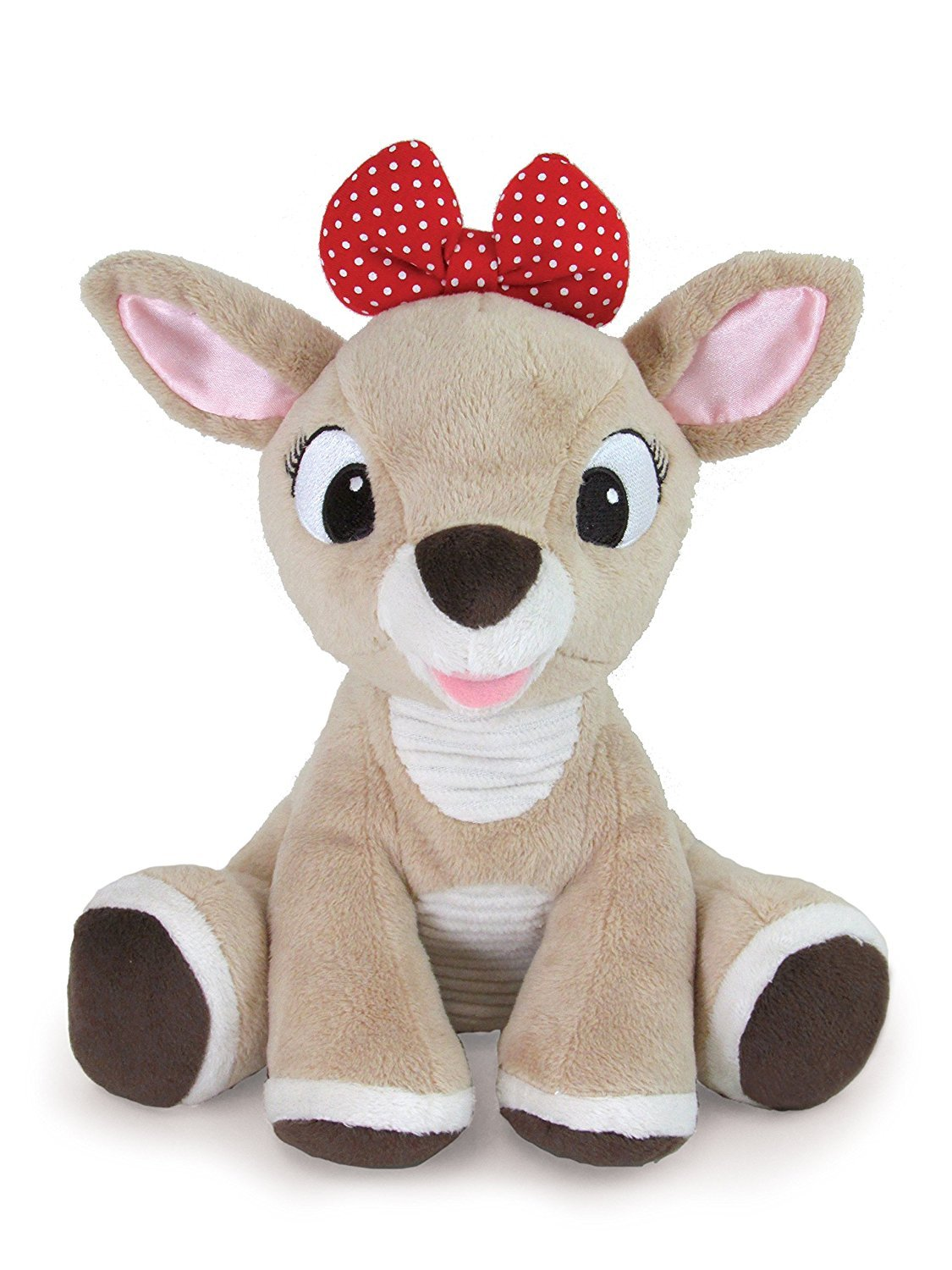 """Kids Preferred Rudolph the Red-Nosed Reindeer, Clarice Stuffed Animal, 8"""""""