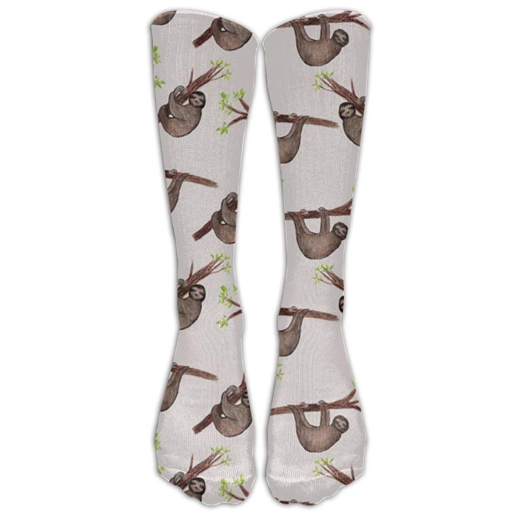 Cartoon-cute-deer Unisex Funny Casual Crew Socks Athletic Socks For Boys Girls Kids Teenagers