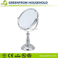 Double sides table standing ford chrome mirror covers