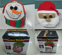 Father Christmas DIY Growing grass doll festivel decorations