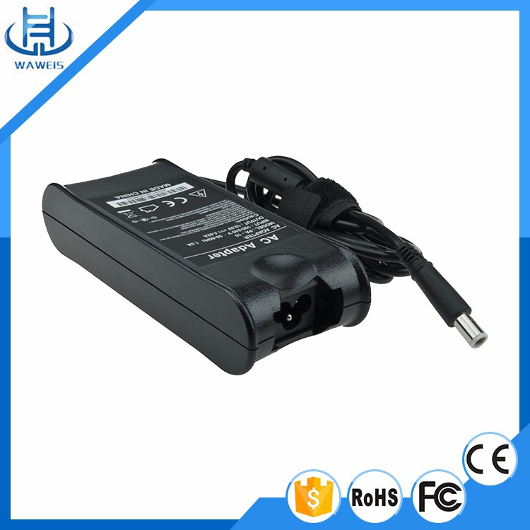 Laptop AC Adapter USA Power Cord Charger for Dell Inspiron 65W 19.5V 3.34A