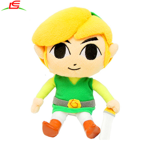 The Legend of Zelda Link Plush Doll Stuffed Toy