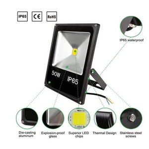 garden reflector IP65 85 to 265v leds led RGB 10W 20W outdoor spotlights spot flood light