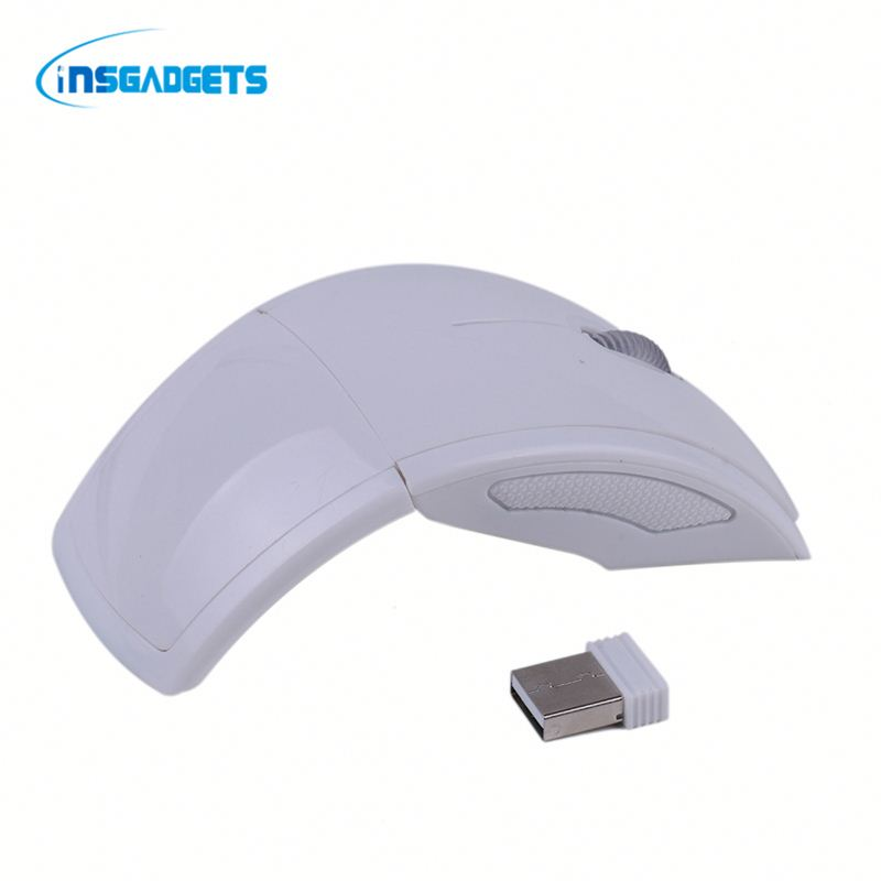 2.4ghz wireless folding scroll wheel mouse ,h0t8q arc touch mouses