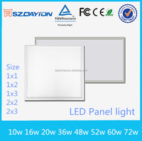Alibaba China supplier AC90-305V 220voltage smd 2835 led office lighting led panel light 600 600