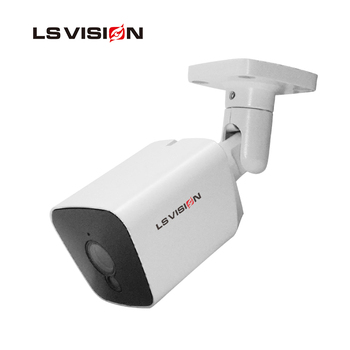 LS VISION 2mp Ultra Low light True Real Time Color Night Vision Surveillance Cameras with Voice Alarm