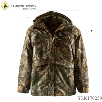 Realtree Camo Waterproof&breathable Hunting coat,Insulated Jacket