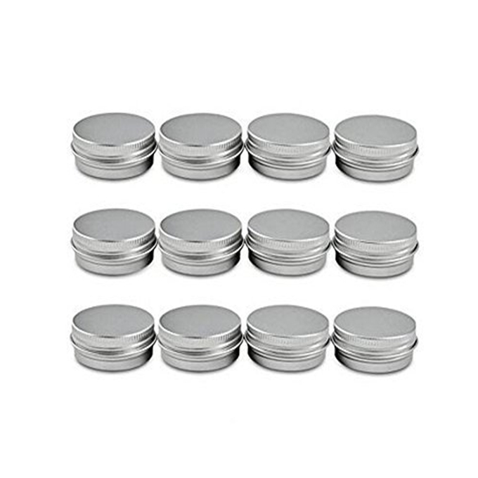 personalised small empty candle jars tin containers metal