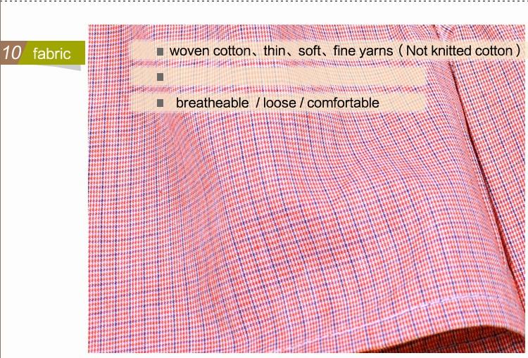 Boxer Hohe Qualität Marke Männer Boxer Shorts Woven Baumwolle 100% Plaid Gekämmte Garn Männlichen Unterhose Lose Atmungsaktive Boxer Unterwäsche Männer