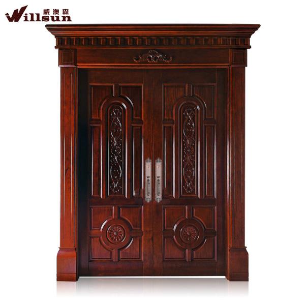 Frente a la puerta de madera moderno im genes de la puerta exterior puertas de madera de dise o for Disenos de puertas de madera para exterior