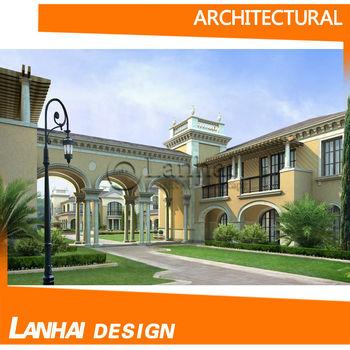 3d Rendering College/school House Design