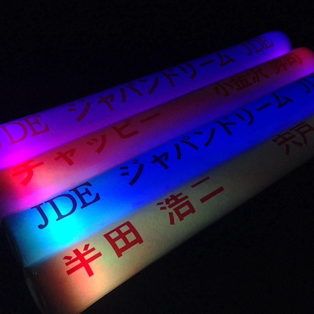 50 Palos de Espuma Luminosos Led Azul Entrega 1-3 D/ÍAS