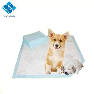 Hot sale dog low cost high absorbent material pad puppy training pad