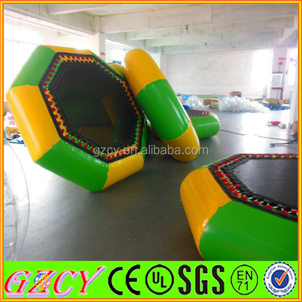 Inflatable Water Trampoline/Inflatable Floating Water Park/Exciting Jumping Trampoline