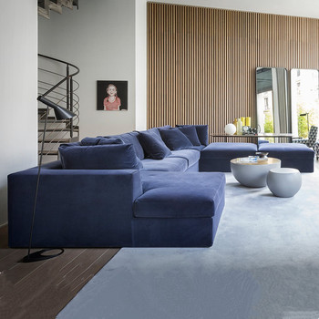 Dubai Sofa Furniture Prices Living Room Furniture Sets Luxury Blue Velvet  Sofa - Buy Blue Velvet Sofa,Dubai Sofa Furniture Prices,Living Room ...