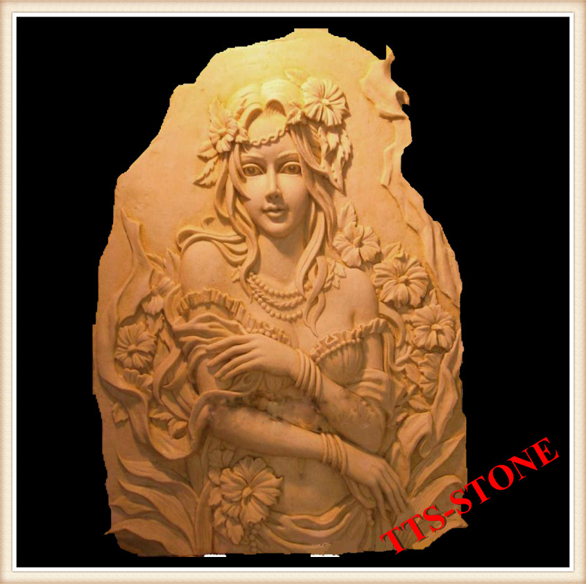 Hand carved nature red marble relief carving marble buy relief