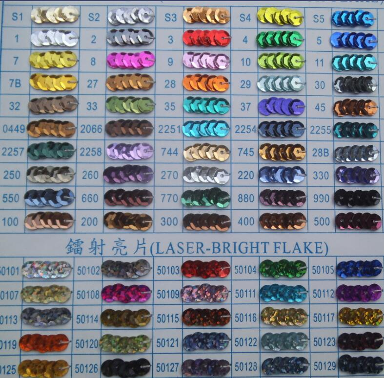 china factory bulk loose sequin wholesale spangle