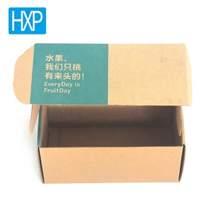 Customized Shape food cardboard paper mailing packaging box for fruit