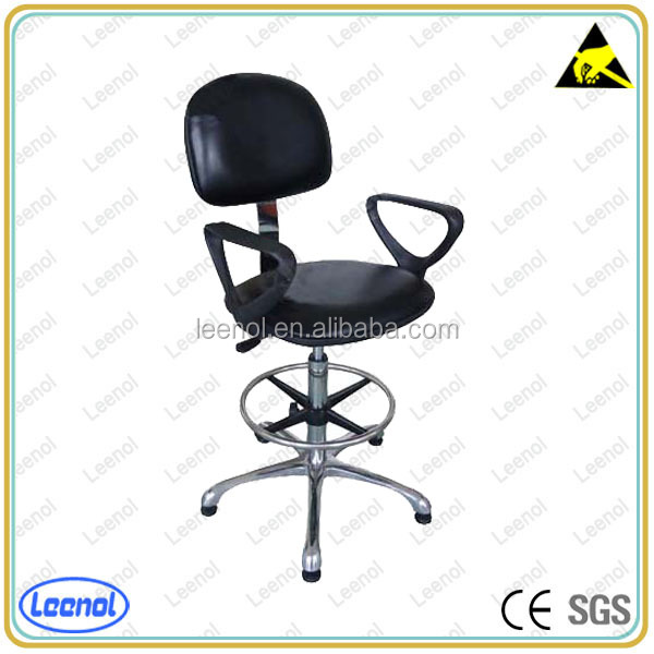 high quality esd chair with Adjustable Armrest