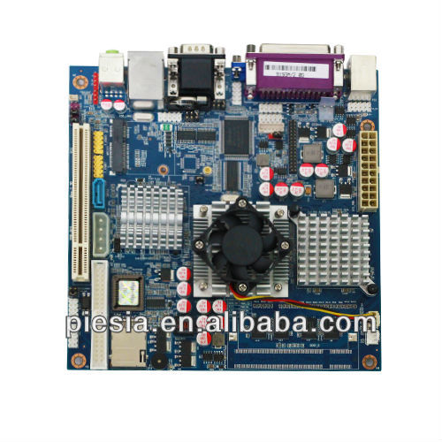 Embedded mini itx industrial motherboard top915 with 6*COM/2*VGA /RJ45 port for HTPC/IPC/VOD/POS/ NC clients ect.