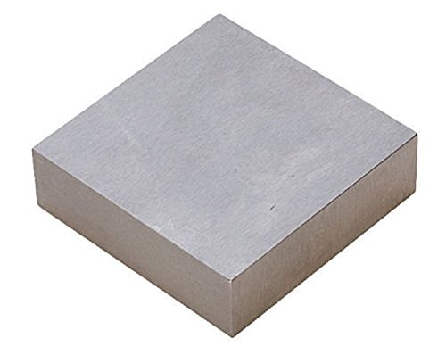 Steel Bench Block Jewelers Gunsmiths Metal Anvil Square Solid 4x4x3/4 Heavy Duty