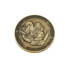 High performance metal logo coin tokens