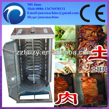 hot selling smokeless and stainless steel doner kebab grill machine