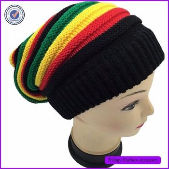 Women Fluffy Baggy Beanie Hat Head Wrap  e7937c93726