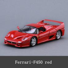 Bburago 1:24 Ferrari высокая имитация модели автомобиля литье под давлением Металлическая Модель Детская игрушка бойфренд подарок имитация сплава ...(Китай)