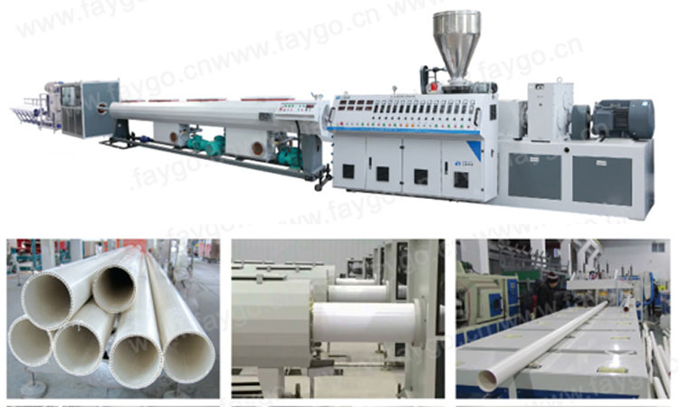 Good design used pvc cpvc upvc ppr hose pipe making machine with price