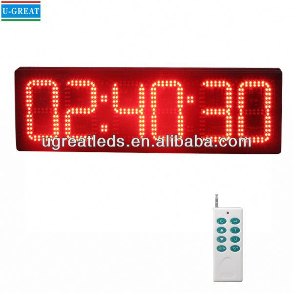 Alibaba high quality and competitive price china manufactory bright outdoor crossfit led timer
