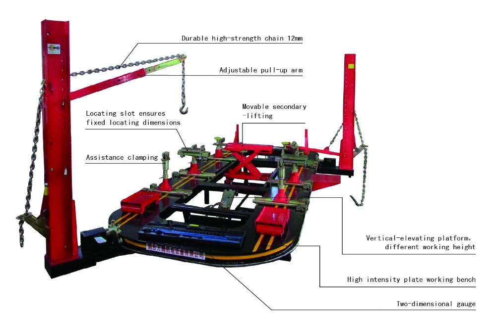 Auto Frame Straightening Machine.Body Frame Machines From Car O ...