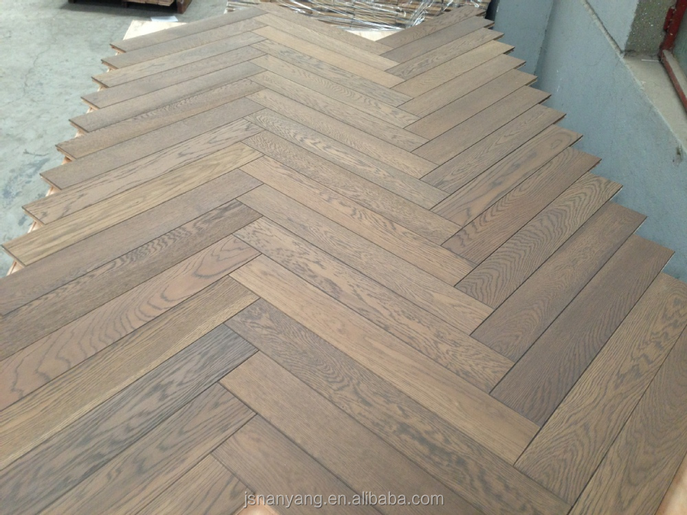 Hot Sale Herringbone Fishbone Walnut Wood Parquet Flooring