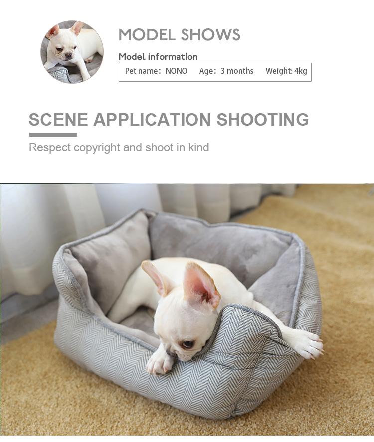 Amazon Hot Selling Wholesale Soft Washable Dog Bed,Pet Dog Bed Memory Foam,Dog Bed Luxury Soft