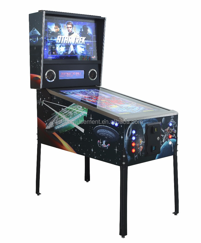 Hot Sale! !Star Trek 863 <strong>games</strong> virtual pinball <strong>game</strong> machine