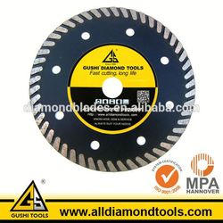 Continuous Turbo Rim Stone Cutting Angle Grinder Diamond Saw Blade