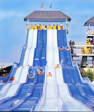 Hot Sale WaterPark Mutilane Exciting Water Slides Tubes