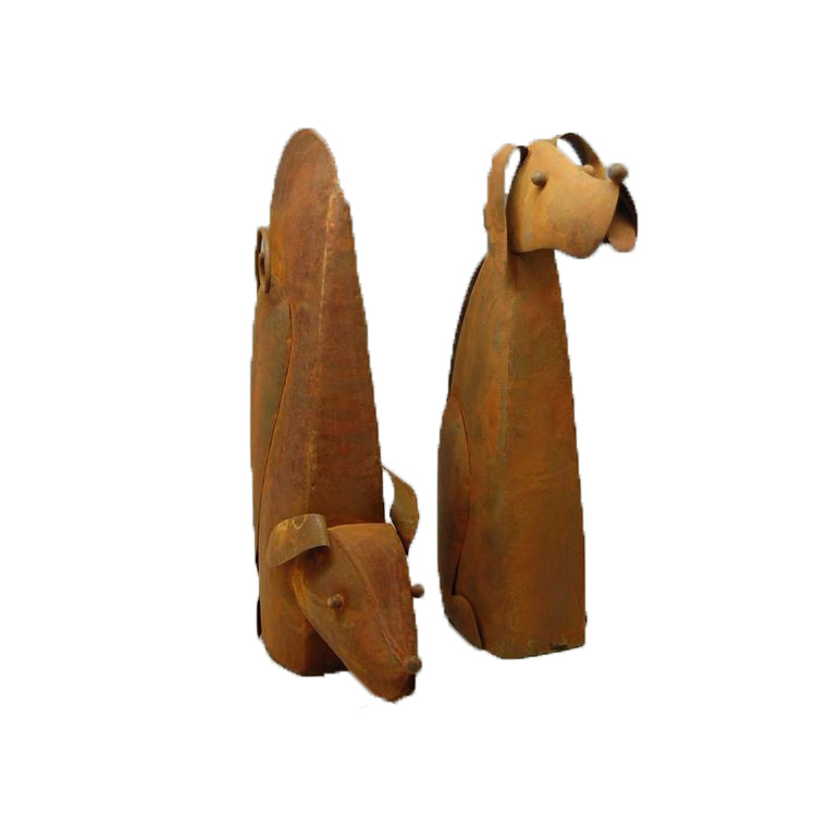 Rust Metal Dog Garden Ornaments Buy Metal Dog Garden Ornamentsmetal Dog Ornamentrust Metal Dog Product On Alibabacom