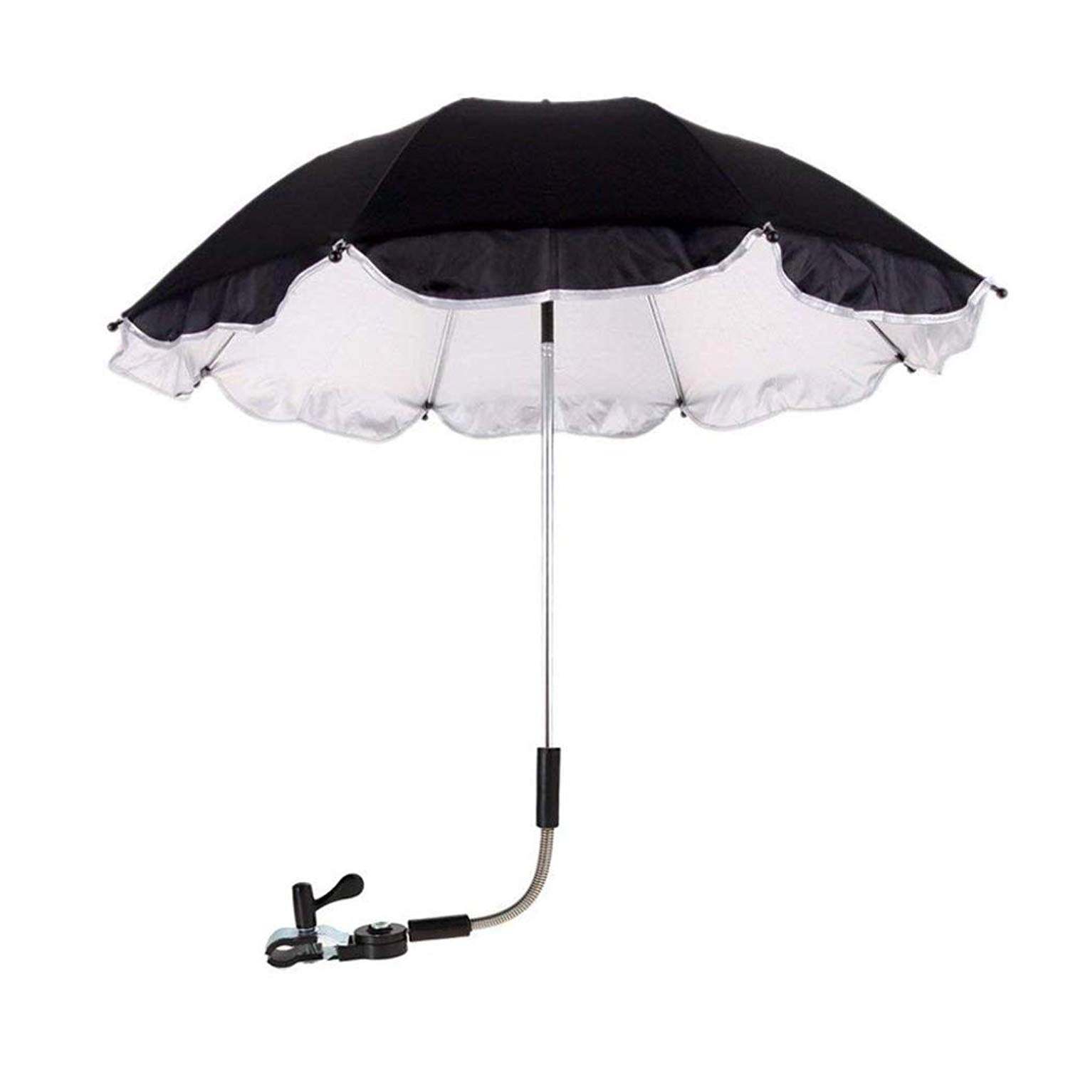Vinjeely Baby Stroller Umbrella, Baby Parasol Cover for Sun Rain Protection UV Rays Outdoor