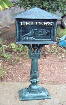Supplier Cast Iron Mailbox Post