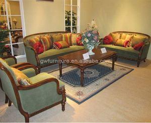 indian style wood sofa