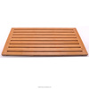 Bamboo Shower Mat Square Bath &Floor Mats Non-sliding Waterproof Safety Mold Resistant