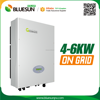 High efficiency 2500w self charging dc to ac grid tie inverter
