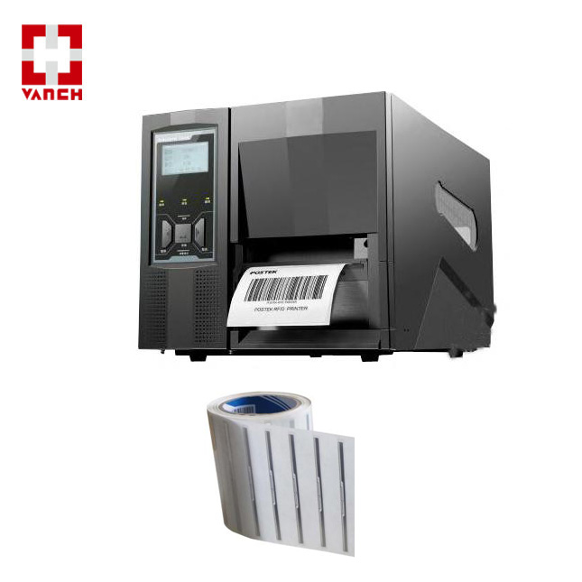 Sticker encoding uhf rfid printer